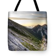 Sunrise In The Pyrenean Catalonia Tote Bag