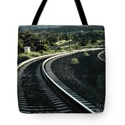 Sunrise In The Yard Tote Bag