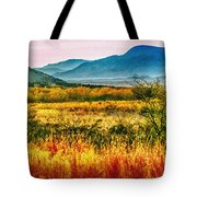 Sunrise In Verde Valley Arizona Tote Bag