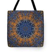 Sunrise Kaleidoscope Tote Bag