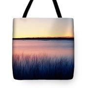 Sunrise Lake Michigan Wi Usa Tote Bag