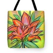 Sunrise Lily Tote Bag