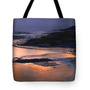 Sunrise Lower Geyser Basin Tote Bag