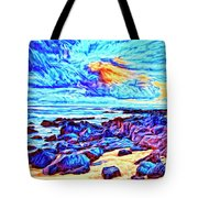 Sunrise Near Poipu Beach Tote Bag