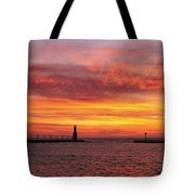 Sunrise Of Hope Tote Bag