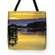 Sunrise Of The Atlantic Icw Tote Bag