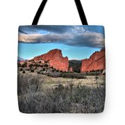 Sunrise Of The Gods Tote Bag