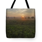 Sunrise On A New Day Tote Bag