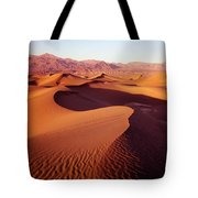 2a6856-sunrise On Death Valley Tote Bag