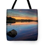 Sunrise On Little River Tote Bag