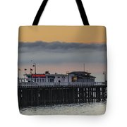 Sunrise On The Bay Tote Bag by Bruce Frye