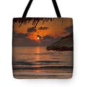 Sunrise On The Beach Tote Bag