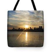 Sunrise On The Big Apple Tote Bag
