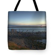 Sunrise On The Coquille River Tote Bag