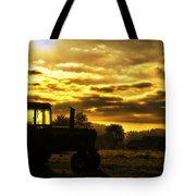 Sunrise On The Deere Tote Bag