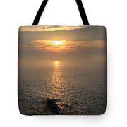 Sunrise On The East Coast Tote Bag