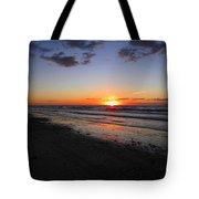 Sunrise On The Gulf Tote Bag