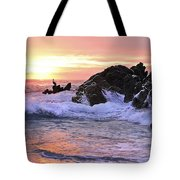 Sunrise On The Horizon Tote Bag