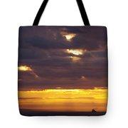 Sunrise On The Ocean Tote Bag