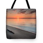 Sunrise On The Potomac Tote Bag