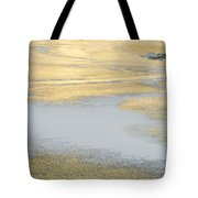 Sunrise On The River Ice Tote Bag
