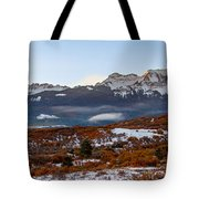 Sunrise On The San Juans Tote Bag