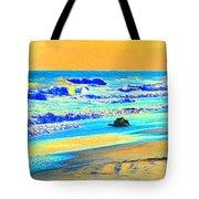Sunrise On Tybee Island - Photopower 169 Tote Bag