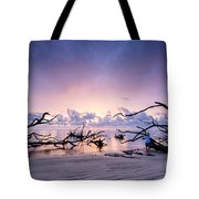 Sunrise Over Blackrock Beach Tote Bag