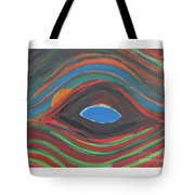 Sunrise Over Blue Ridge Mountain Lake Tote Bag