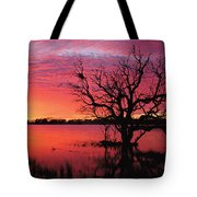 Sunrise Over Coongee Lakes Tote Bag