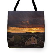 Sunrise Over Happy Valley Tote Bag