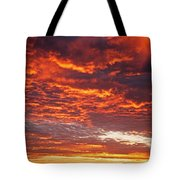 Sunrise Over Ireland Tote Bag