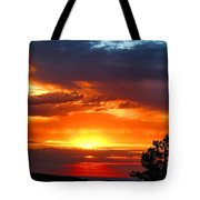 Sunrise Over Keystone Tote Bag