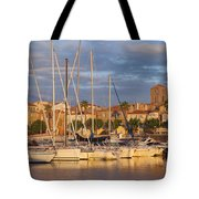 Sunrise Over La Ciotat France Tote Bag by Brian Jannsen
