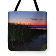 Sunrise Over Lake Huron Tote Bag