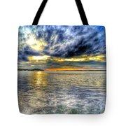 Sunset Over Lake Ontario Tote Bag