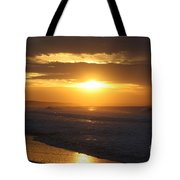 Sunrise Over Point Lonsdale Tote Bag