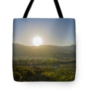 Sunrise Over The Bluestack Mountains - Donegal Ireland Tote Bag