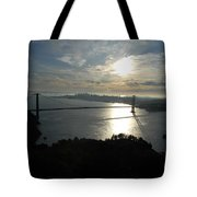 Sunrise Over The Golden Gate Tote Bag