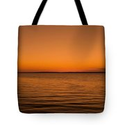 Sunrise Over The Lake Of Two Mountains - Qc Tote Bag