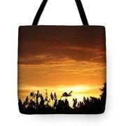 Sunrise Over The Milo Field Tote Bag