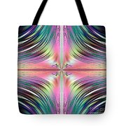 Sunrise Over The Waterfalls Fractal Tote Bag