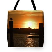 Sunrise Over Topsail Island Tote Bag by Mike McGlothlen
