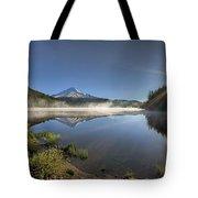 Sunrise Over Trillium Lake Tote Bag