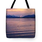 Sunrise Over Ultima Esperanza Tote Bag
