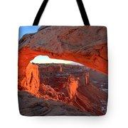 Sunrise Paint Tote Bag