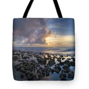 Sunrise Panorama Tote Bag