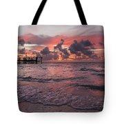 Sunrise Panoramic Tote Bag by Adam Romanowicz