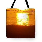 Sunrise - Reunion Island - Indian Ocean Tote Bag by Francoise Leandre