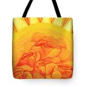 Sunrise Roses Tote Bag